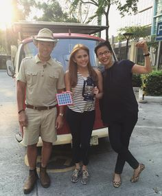 Horray!!!! Successfully built an Eco-friendly & low cost solar lamp! ☺️ Look how proud my adoptive parents @kuyakim_atienza & @feliciaatienza are! Hahaha!  Even prouder are my real mom & erps when I showed them the photos & videos! So happy & blessed to have contributed in lighting up lives of thousands of our underprivileged kababayans.  More power to your projects @illacdiaz  #lightupPh #literoflight