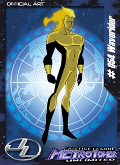 Tempus-Membro da Liga da Justiça. Aparece apenas como figurante na série.