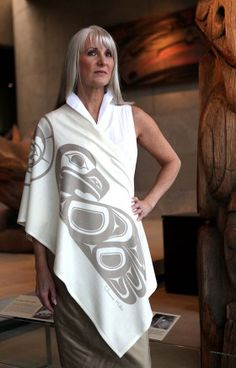 Haida Artist Clarence Mills and Chloe Angus Designs