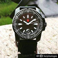 @florijnhorloges FLORIJN 3 on nylon strap. #divewatches #horloges #wornandwound #dutchdesign #affordablewatches #seiko #watchporn #travelwatch #panerai #watchesofinstagram #watches #florijn #orologio #uhrforum #uhren #rolex #microbrand #wus