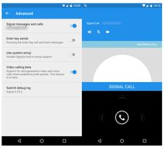 Encrypted chat app Signal tests voice and video calling   Via - TechsNGeek.com