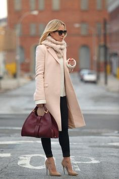The Brooklyn Blonde In Coat From Zara 7FAM Slim Illusiion Shoes From Jimmy Choo And Gucci Handbag