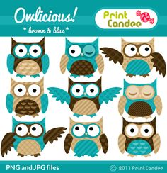 Free Owl Printables | Fabulous Fun Finds: Print Candee Free Printable--YOUR CHOICE!!