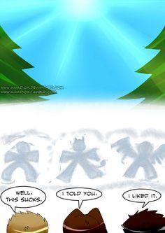 Let it snow by *KamiDiox on deviantART