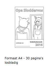 Lesmateriaal Opa Sloddervos (Kinderboekenweek 2016)…