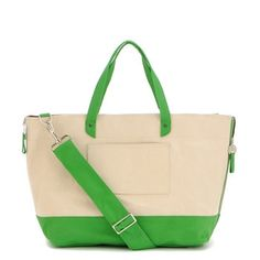 Danzo Canvas Tote - Green by Danzo | Boutique Girls Clothes + Dresses | Boys + Baby Clothes | Vann&Liv