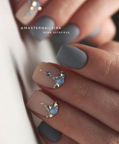 Image may contain: one or more people and closeup Gem Nails, Diamond Nails, Nude Nails, Hair And Nails, Swarovski Nails, Crystal Nails, Rhinestone Nails, Perfect Nails, Gorgeous Nails