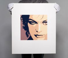 Milla II. Screen Printing, Modern Art, Polaroid Film, Prints, Atelier, Silk Screen Printing, Screenprinting, Contemporary Art, Mid Century Modern