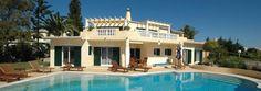Karma Surf Retreat - Algarve Villa - front view with pool.