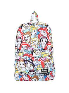 Loungefly Disney Princesses Print BackpackLoungefly Disney Princesses Print Backpack,