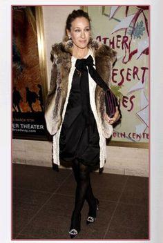 Sarah Jessica Parker wore an Imposter Coyote Vest
