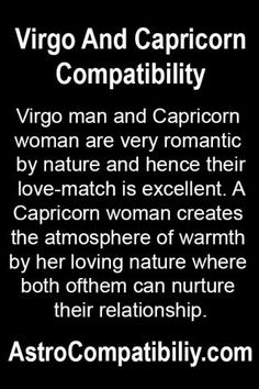 Capricorn Man And Virgo Woman In Love
