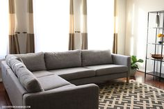 how to tuft button cushions sofa couch, how to, reupholster