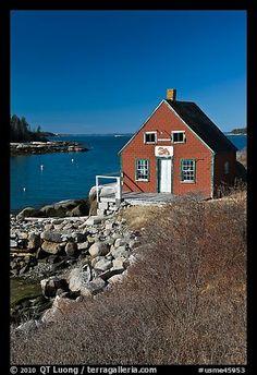 Lobstering shack. Stonington, Maine