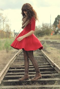 Little Red Dress.