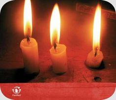The Three Little Candels | @FairMail - Fair Trade Cards - D100-E