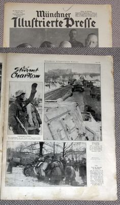 I added this one for the picture at the bottom of the page, Kharkov 1943