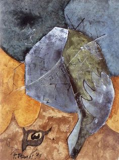 Theodoros Stamos, Partitions, 1947, watercolour, gouache, pen, brush and ink on paper, 40.6 x 30.5 cm