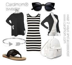 Cool Cardimom® Black with Tee shirt dress by multiwear on Polyvore featuring MIA, 7 Chi and Bling Jewelry www.cardimom.com