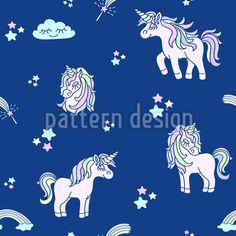 Süßes Kleines Einhorn Rapport by Tatiana Pastushkova at patterndesigns.com Vektor Muster, Comic, Vector Pattern, Fairytale, Snoopy, Patterns, Fictional Characters, Art, Vectors