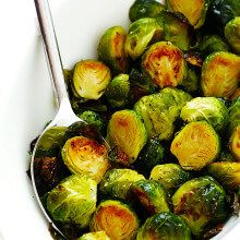 Perfect Roasted Brussels Sprouts-Thanksgiving Archives | Gimme Some Oven