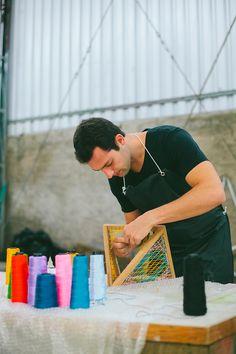 Richard Nascimento | Estúdio Rika - Luminária String. #designbrasileiro #feitonobrasil #designbrasil #mobiliariobrasileiro #decoração #arquitetura #casa #braziliandesign #furniture #homedecor #contemporarydesign #designcontemporâneo #EstúdioRika #RichardNascimento #KatiTakahashi