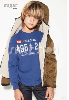Noahn from Sugar Kids for kid's wear magazine by Achim Lippoth.