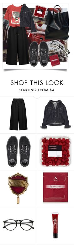 """""""👄"""" by telephatic-hearts ❤ liked on Polyvore featuring Vanessa Seward, Vans, Universal, 3LAB, INDIE HAIR and philosophy"""
