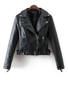 SHARE & Get it FREE   Lapel Collar Fitted Biker JacketFor Fashion Lovers only:80,000+ Items • New Arrivals Daily Join Zaful: Get YOUR $50 NOW!