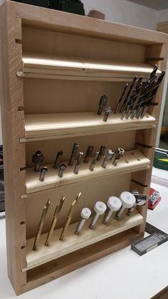 Drill bits storage
