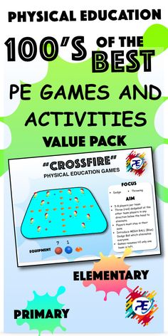 Physical Education Lesson Plans, Elementary Physical Education, Physical Activities, Fun Activities, Elementary Schools, Warm Up Games, Fun Games For Kids, Increase Knowledge, Pe Ideas