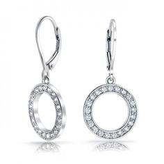 Purchase Bridal Prom Cubic Zirconia Pave CZ Open Circle Disc Leverback Dangle Drop Earrings For Women Silver Plated Brass from Bling Jewelry Inc on OpenSky. Share and compare all Jewelry. Silver Drop Earrings, Women's Earrings, Silver Ring, Bling Jewelry, Jewelry Gifts, Jewellery, Engraved Rings, Sterling Silver Jewelry, Pendant