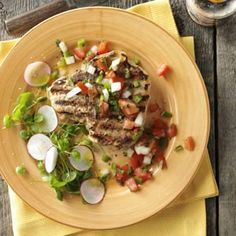 Dad's Best Pork Chops Recipe  http://www.stockpilingmoms.com/2012/06/dads-best-pork-chops-recipe/