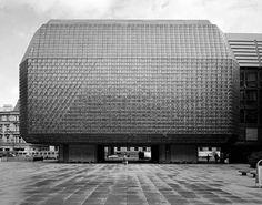 Nova Scena Theatre, Prague, Czech Republic. (1977-1983) architect Karel Prager (c)Tom Evangelidis