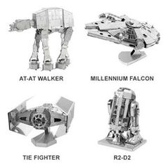 Star Wars Metal DIY 3D Model