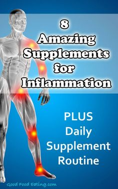 8 Amazing Supplements for Rapid Relief of Inflammation