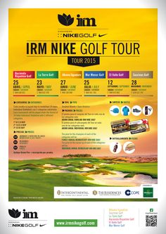 Newsletter IRM Nike Golf - Abril / April 2015