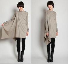 Туника Rick Owens / Простые выкройки / Модный сайт о стильной переделке одежды и интерьера