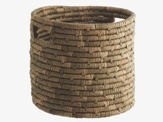 GIBSON NATURAL Seagrass Seagrass storage basket - HabitatUK