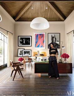 '[My home] is much more restrained and modern, which is perfect for where I am in my life': Kourtney bought her $7.5M, 11K-square-foot Tuscan-style residence from former NFL star Keyshawn Johnson