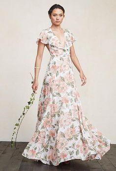 Floral Bridesmaid Dresses On Pinterest Floral