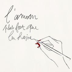 Garance Dore blogueuse #jesuischarlie #charliehebdo
