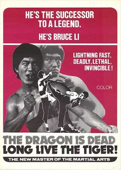 [ DRAGON IS DEAD LONG LIVE TIGER POSTER ]