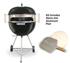 I'd like to get one of these someday.      KPDU-22 - KettlePizza Deluxe USA Kit  -