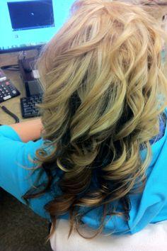 Two-tone Hair!