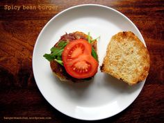 Keep your favourite foods ON the menu with these spicy bean burgers - a #LiveBelowtheLine recipe from Bangers & Mash.