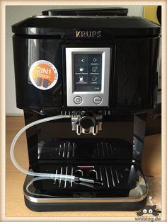 Krups EA8808 One-Touch-Kaffeevollautomat im Test #KRUPS2in1Kaffeevollautomat