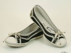 Rudolf Dassler by Puma Ballerina WELLENSPRUNG Gr. 38 Damen Schuhe NEU in Kleidung & Accessoires, Damenschuhe, Halbschuhe & Ballerinas | eBay
