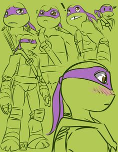 TMNT: Donnie sketches by Fulcrumisthebomb.deviantart.com on @DeviantArt