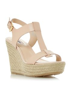 Buy your Dune Kelby T-bar Espadrille Wedge Sandals online now at House of Fraser. Why not Buy and Collect in-store?